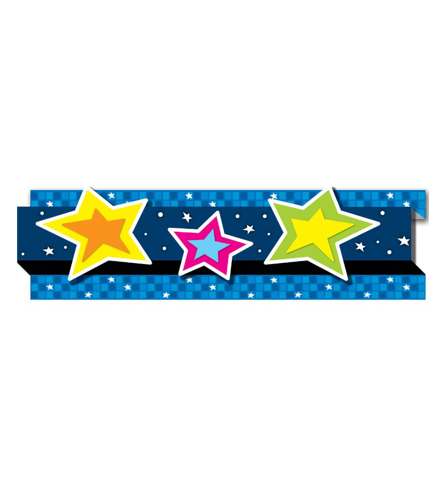 Stars Pop-Its Straight Borders Product Image