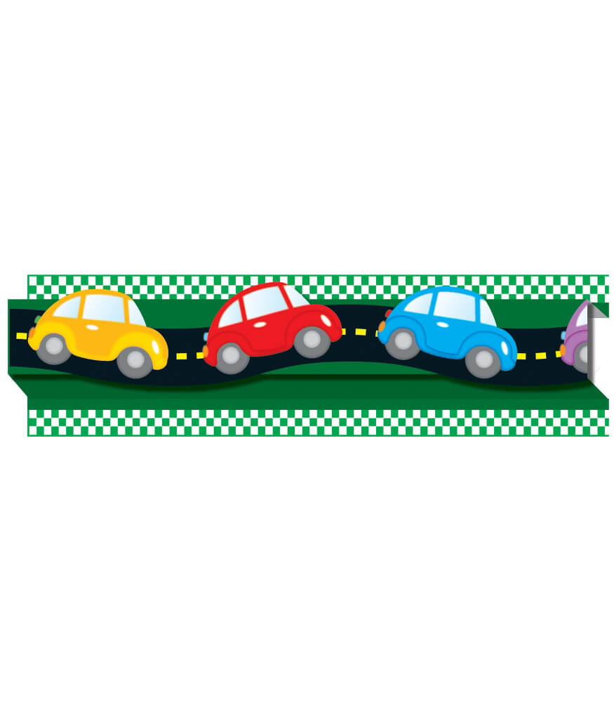 Cars & Road Pop-Its Straight Borders Product Image