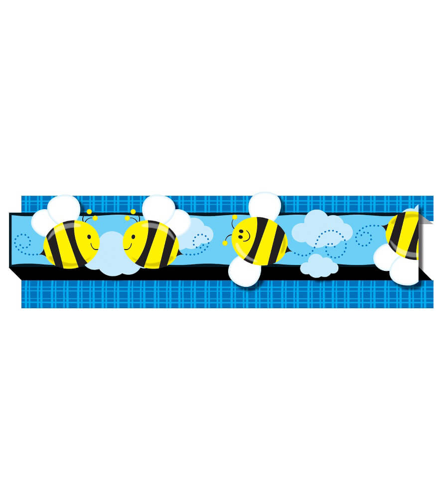 Classroom Theme Ideas High School ~ Bees straight borders
