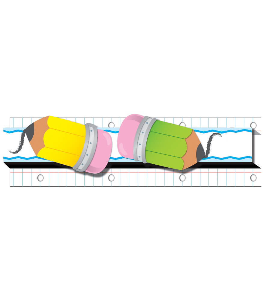 Pencils Straight Borders Product Image