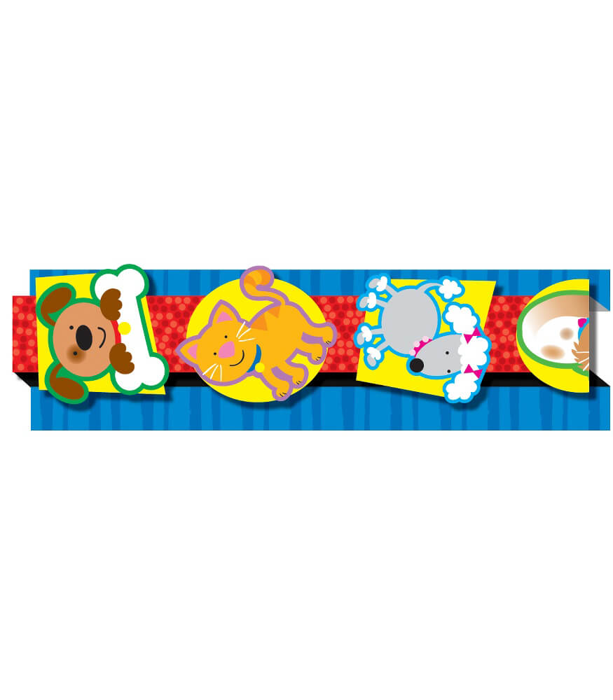 Dogs & Cats Pop-Its Straight Borders Product Image