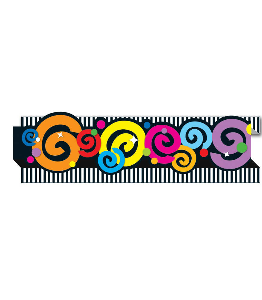 Swirls Pop-Its Straight Borders Product Image