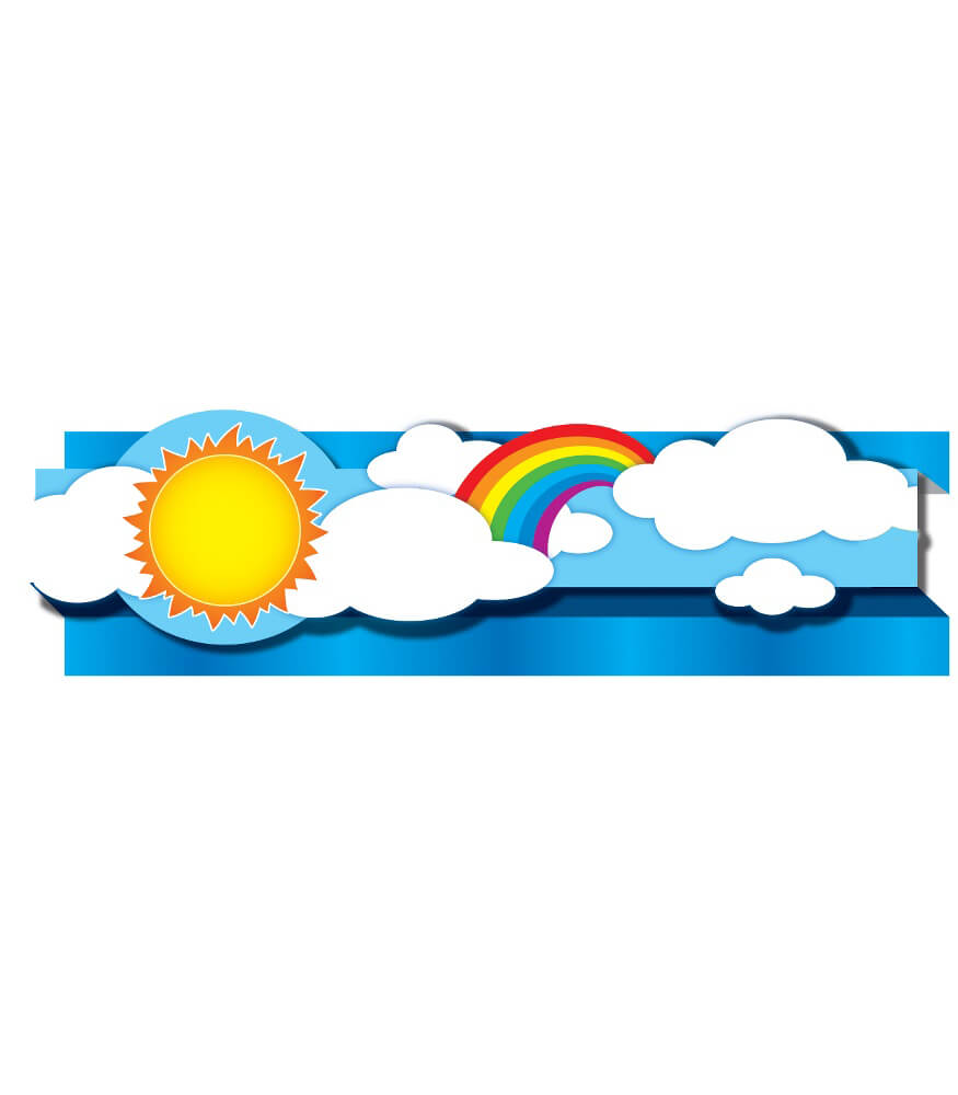 Suns & Rainbows Straight Borders Product Image