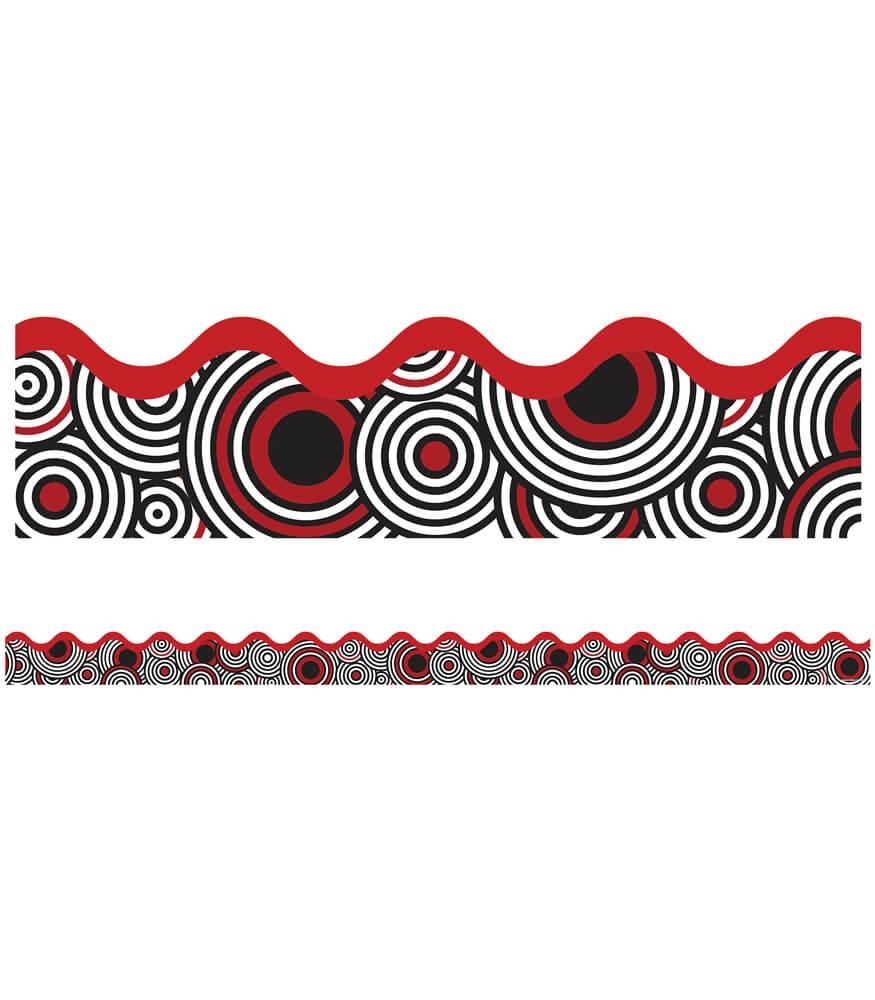 Deco Dots Scalloped Borders Product Image