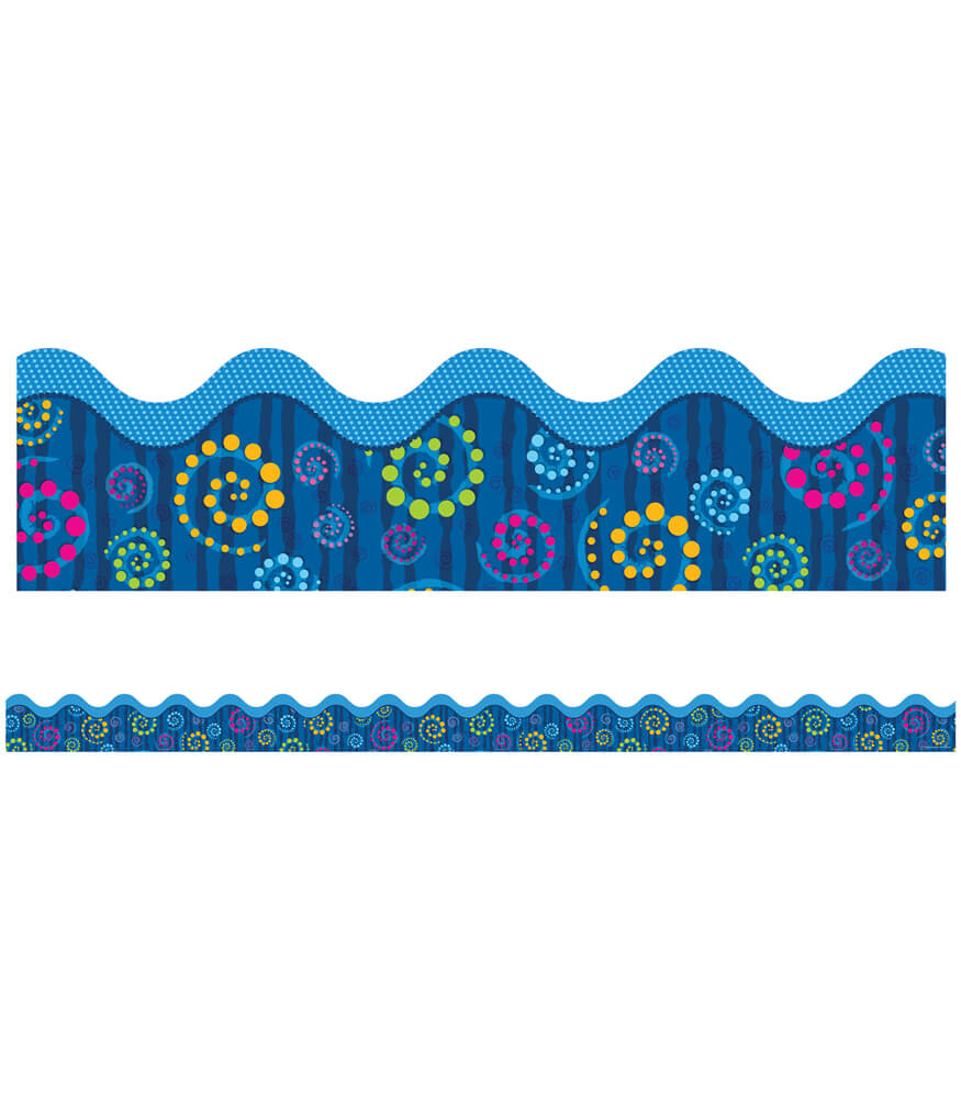 Dots 'n Swirls Scalloped Borders Product Image