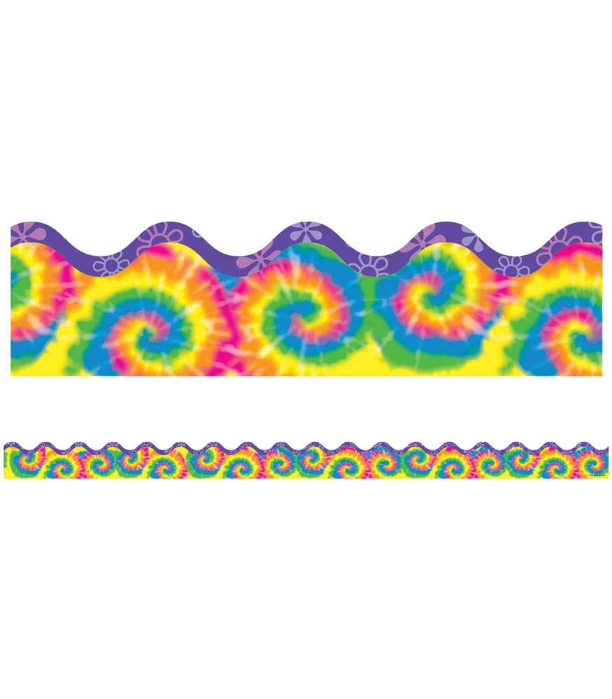 Timeless Tie-Dye Scalloped Borders Product Image