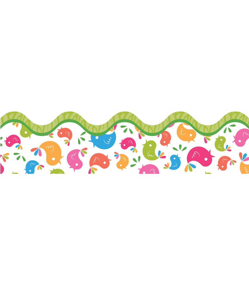 Tweet Birdies Scalloped Borders Product Image