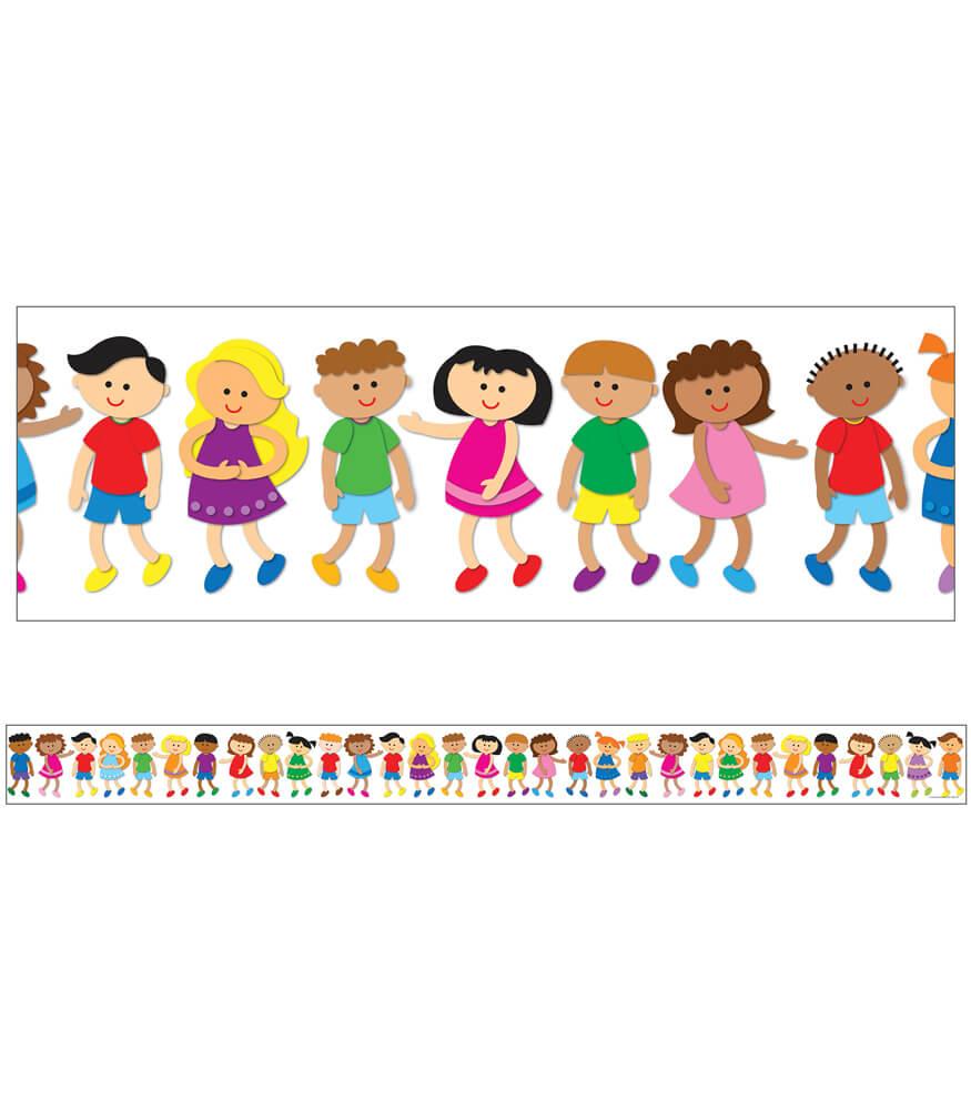 Kids Straight Borders Product Image