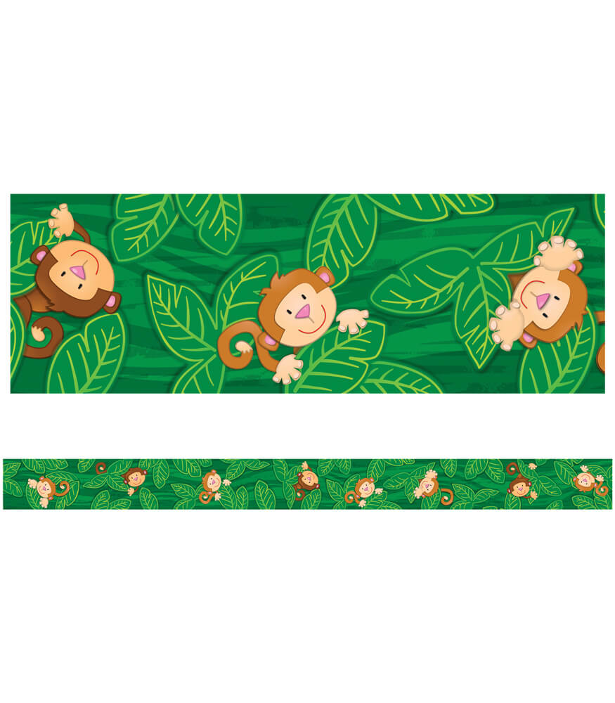 Monkeys Straight Borders Product Image