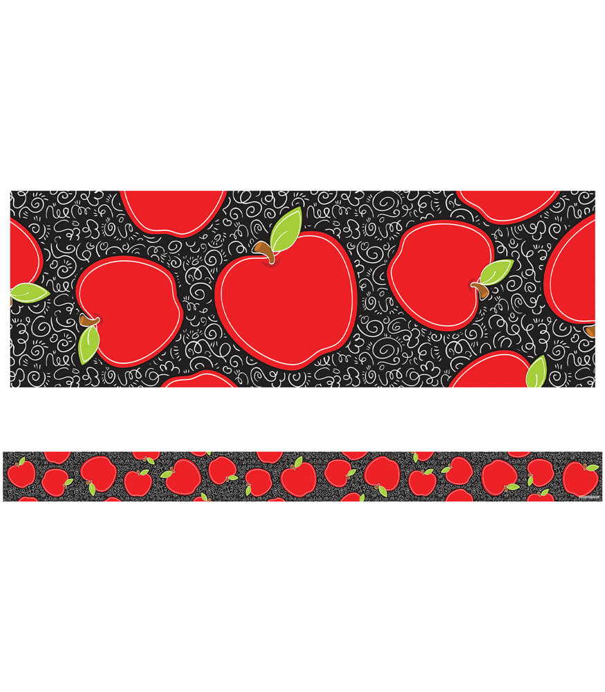 Apples Straight Borders Product Image