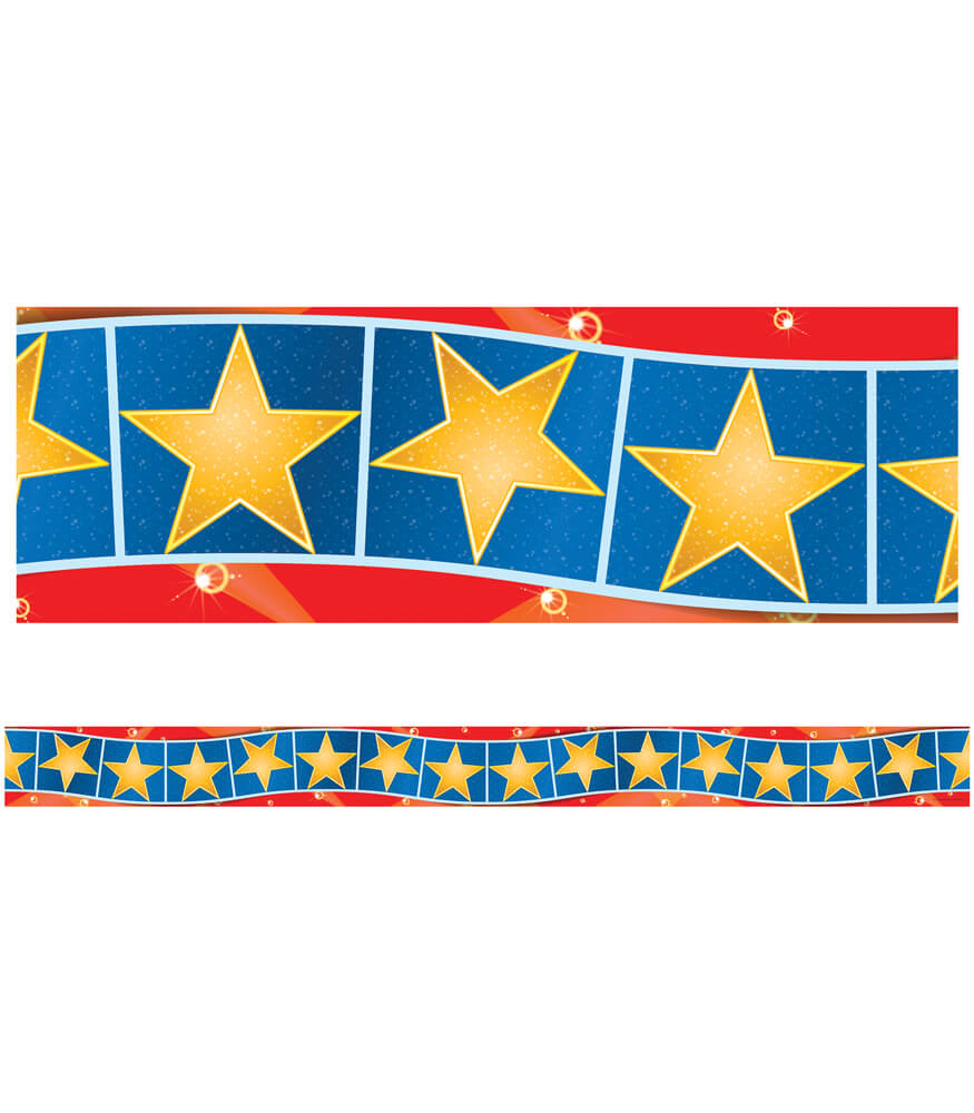 Hollywood Stars Straight Borders Product Image
