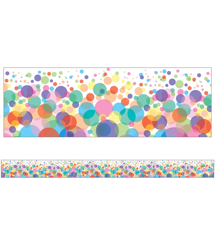 Bubbles Straight Borders Product Image