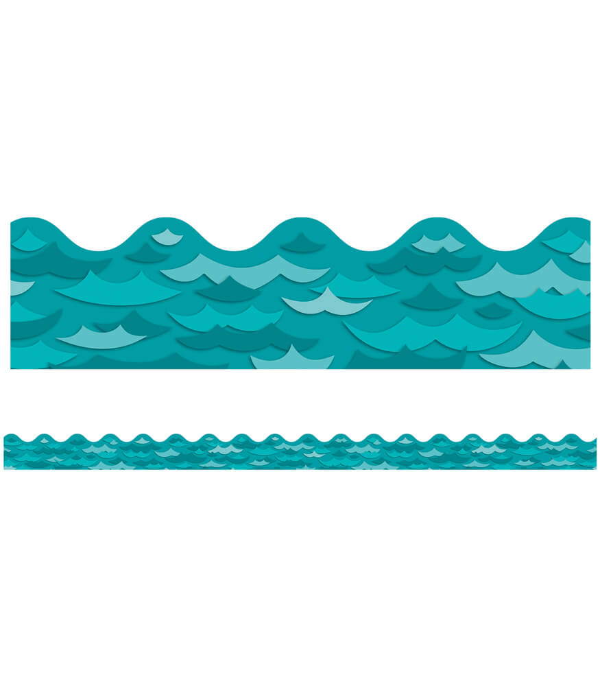 Waves Scalloped Borders Product Image
