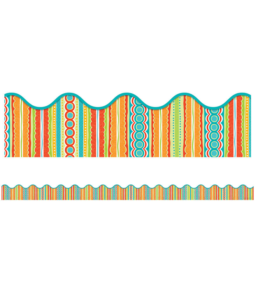 Tropical Twist Scalloped Borders Product Image