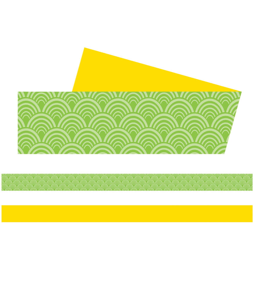 Lemon Lime Straight Borders Product Image