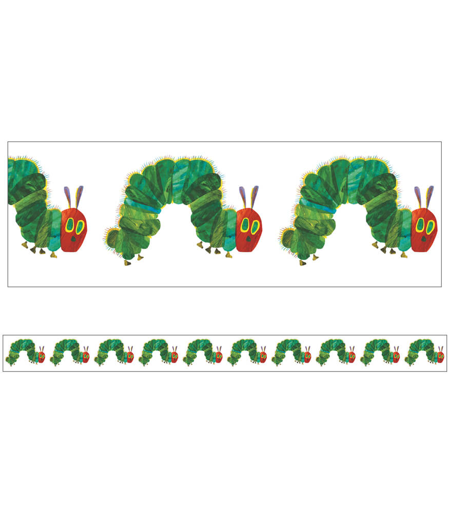 The Very Hungry Caterpillar™ 45th Anniversary Straight Borders Product Image