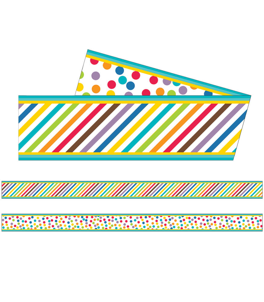 Color Me Bright Straight Borders Product Image