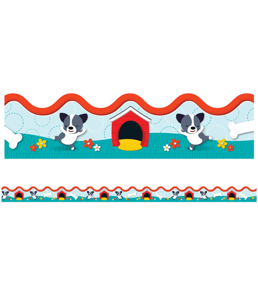 Hot Diggity Dogs Scalloped Borders Product Image