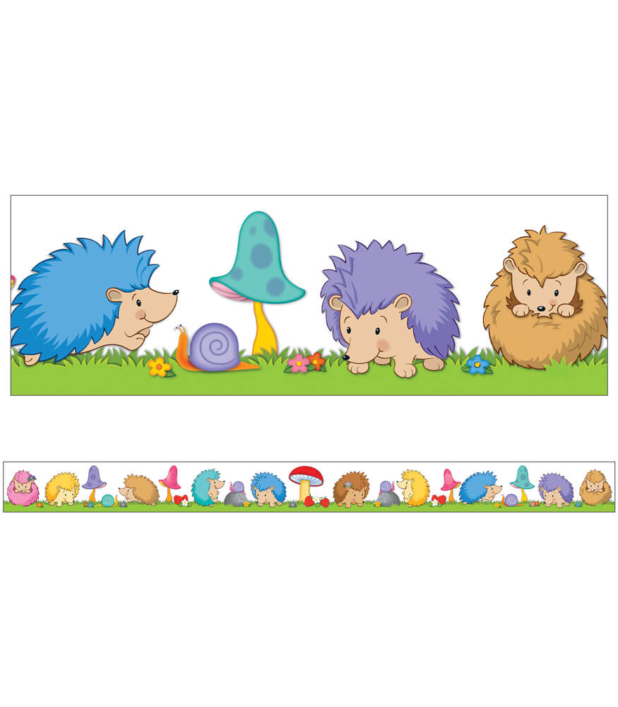 Happy Hedgehogs Straight Borders Product Image