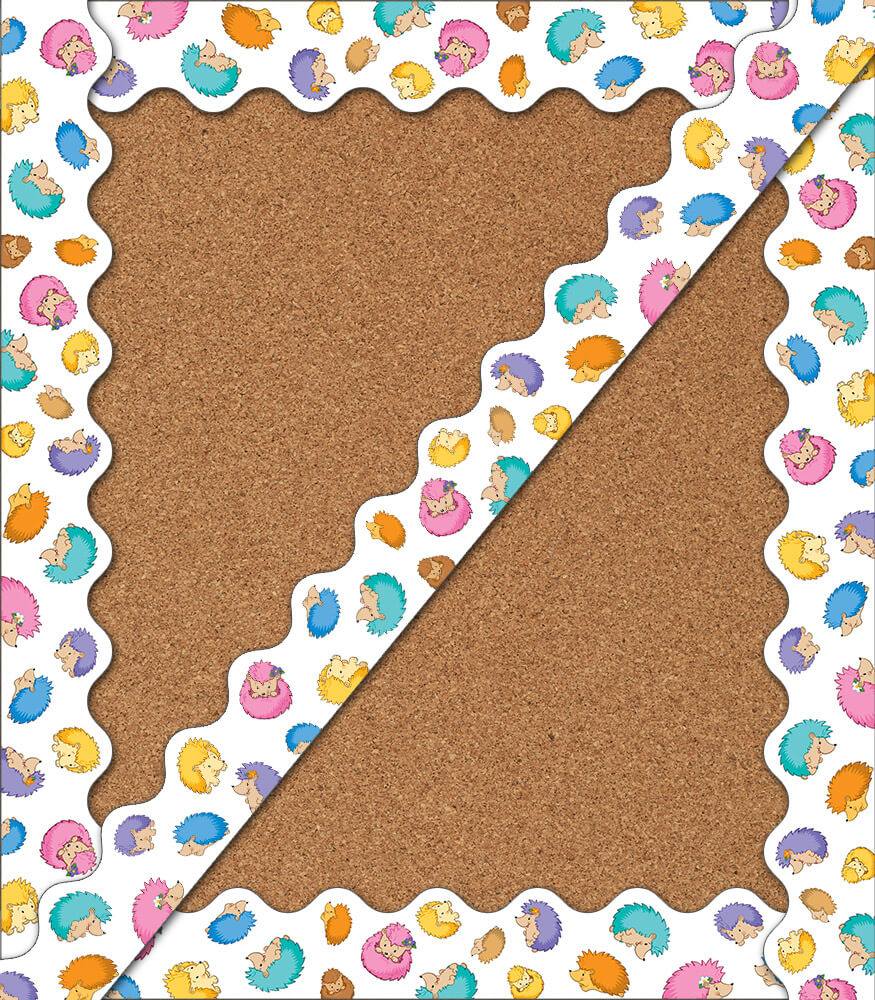 Happy Hedgehogs Scalloped Borders Product Image