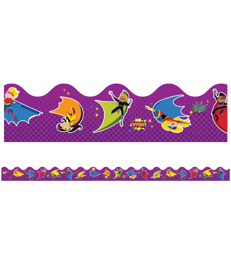 Super Power Super Kids Scalloped Borders Product Image