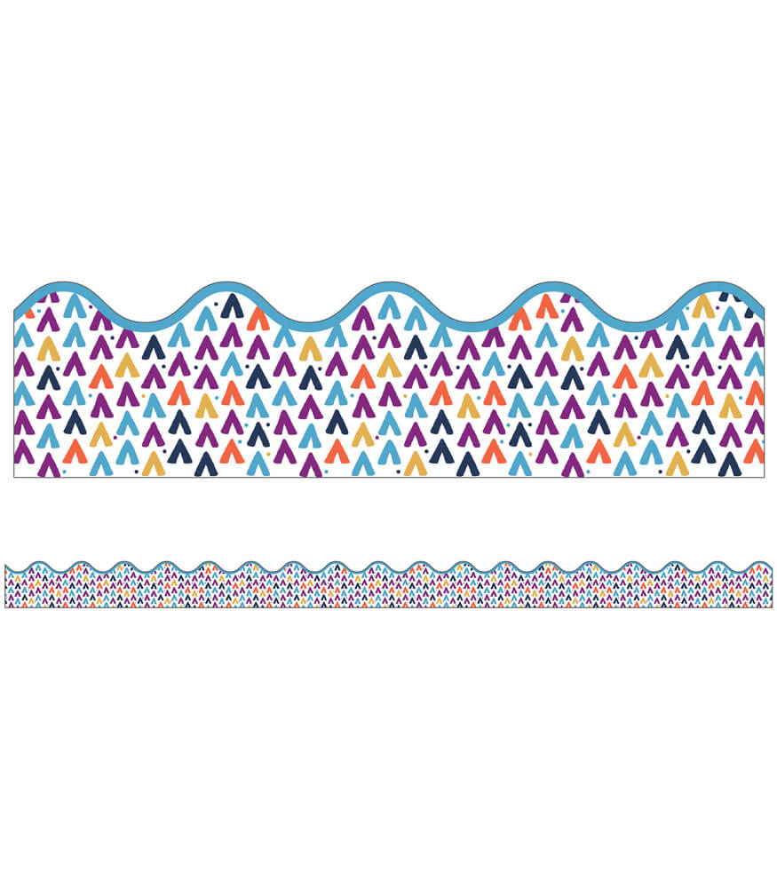 You-Nique Tepees Scalloped Borders Product Image