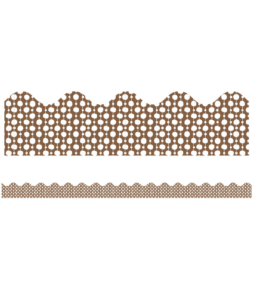 You-Nique Beads Scalloped Borders Product Image