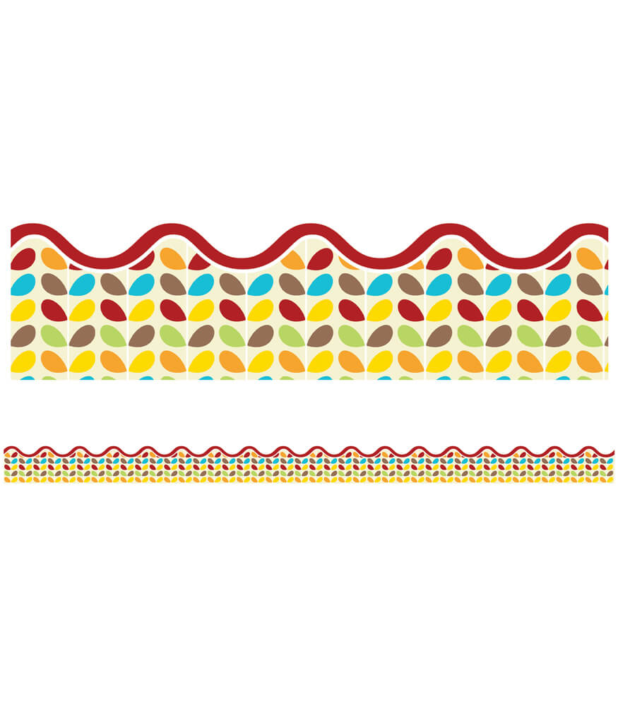 Hipster Sprouts Scalloped Borders Product Image