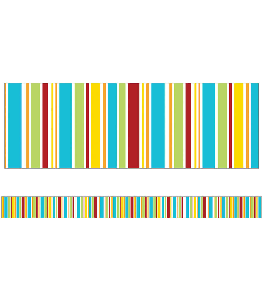 Hipster Stripes Straight Borders Product Image