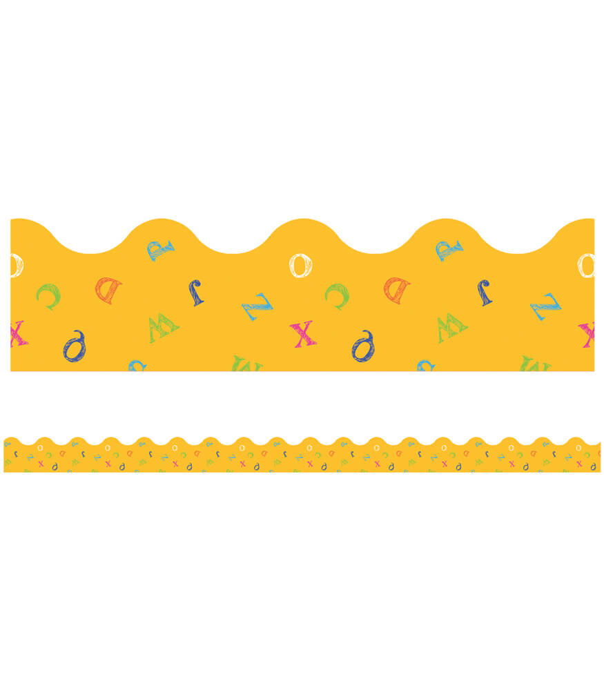 Alphabet Soup Scalloped Borders Product Image