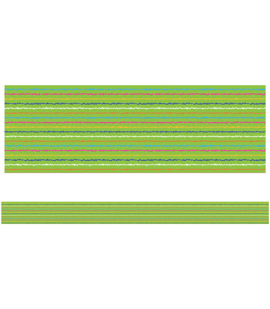 Doodle Stripes Straight Borders Product Image