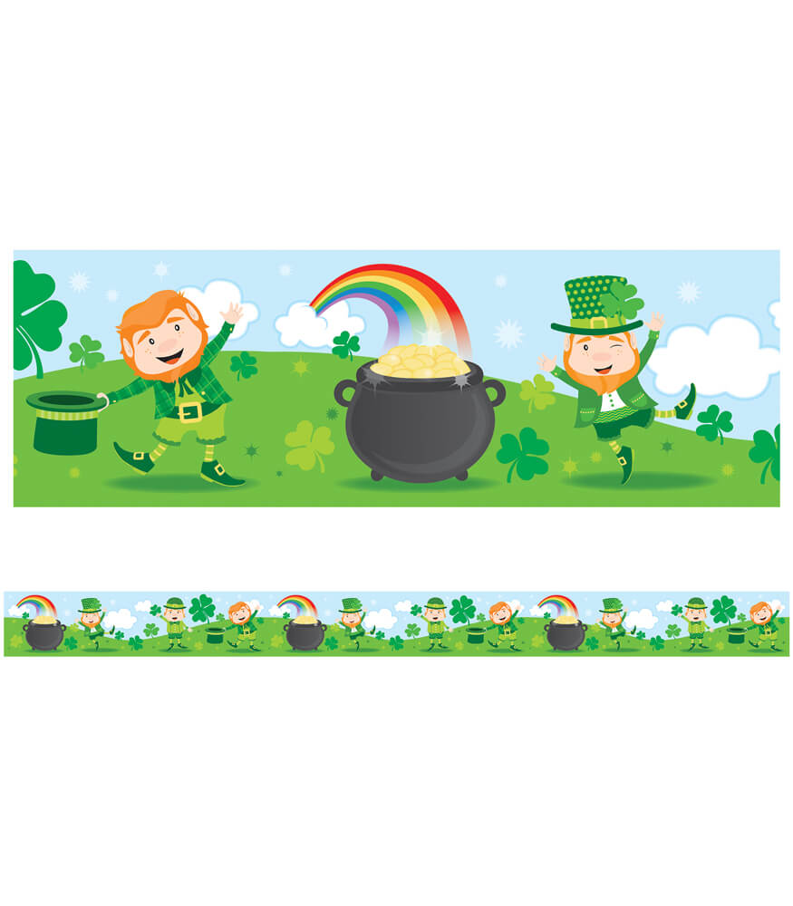 St. Patrick's Day Straight Borders Product Image