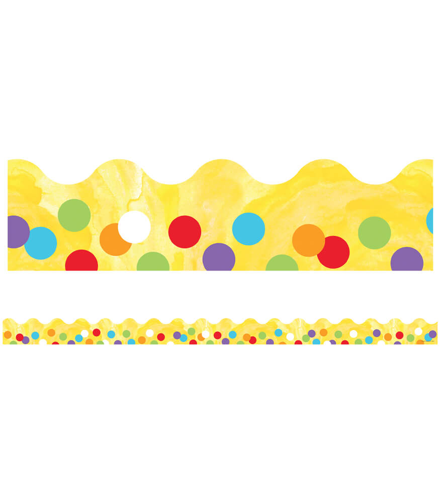 Confetti Scalloped Borders