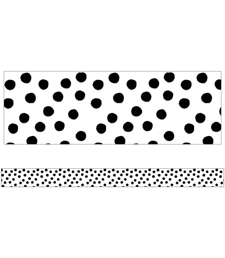 Painted Dots Straight Borders Product Image