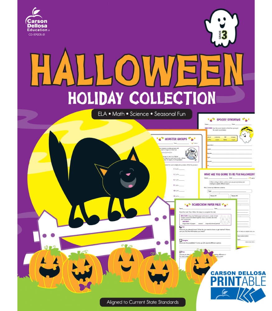 Halloween Holiday Printable Collection Product Image