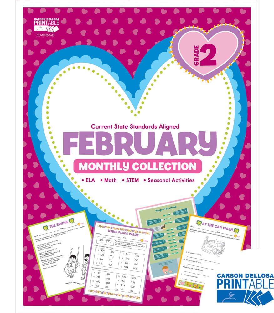 February Monthly Printable Collection Product Image
