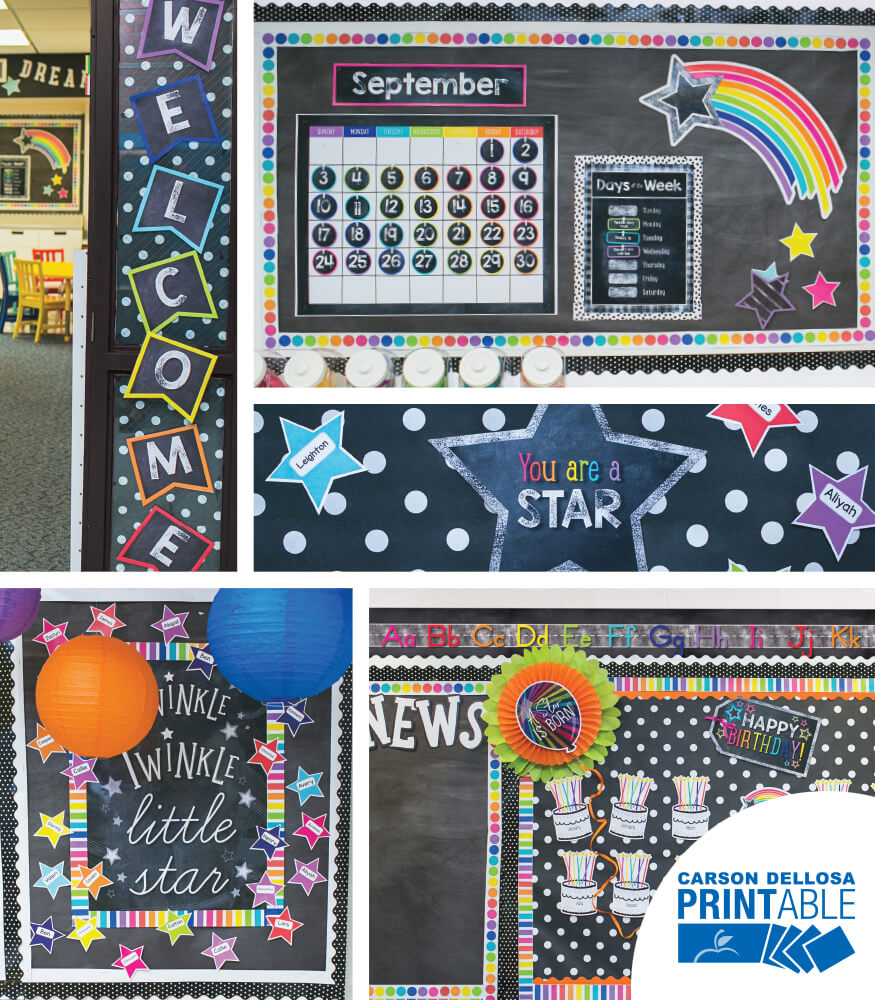 Twinkle Twinkle You're A STAR!  Printable Classroom Collection Product Image