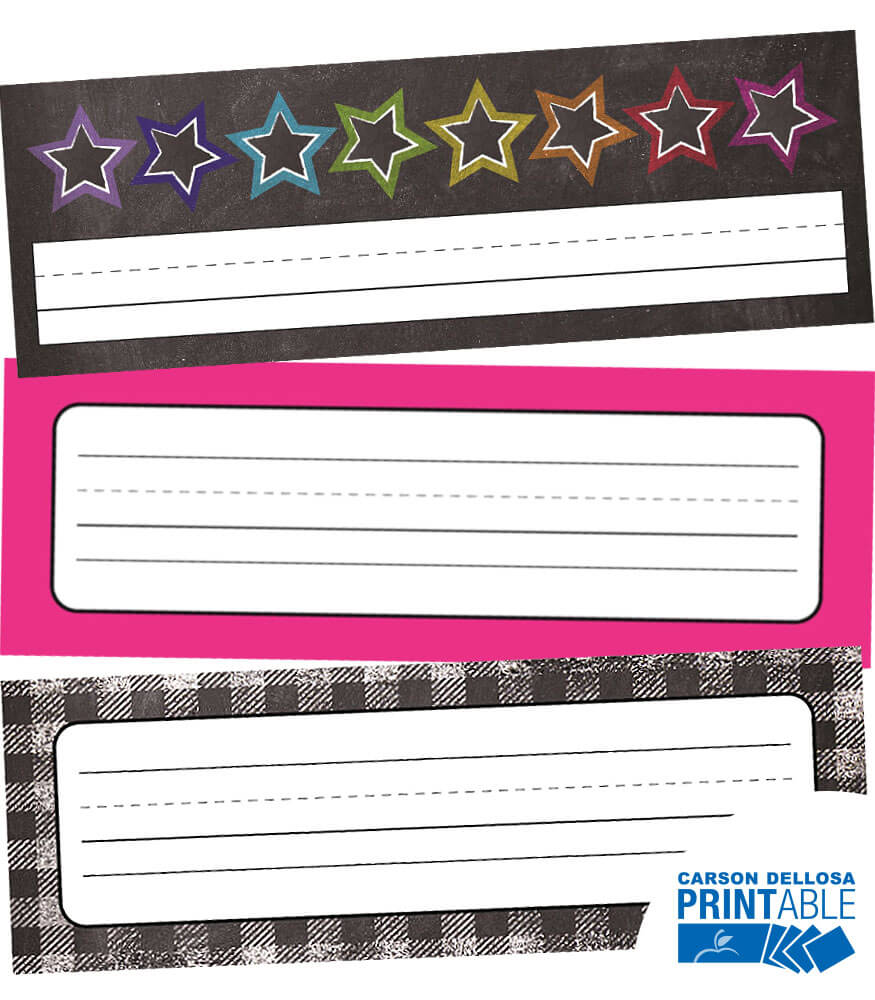 Twinkle Twinkle You're A STAR!  Printable Nameplates Product Image