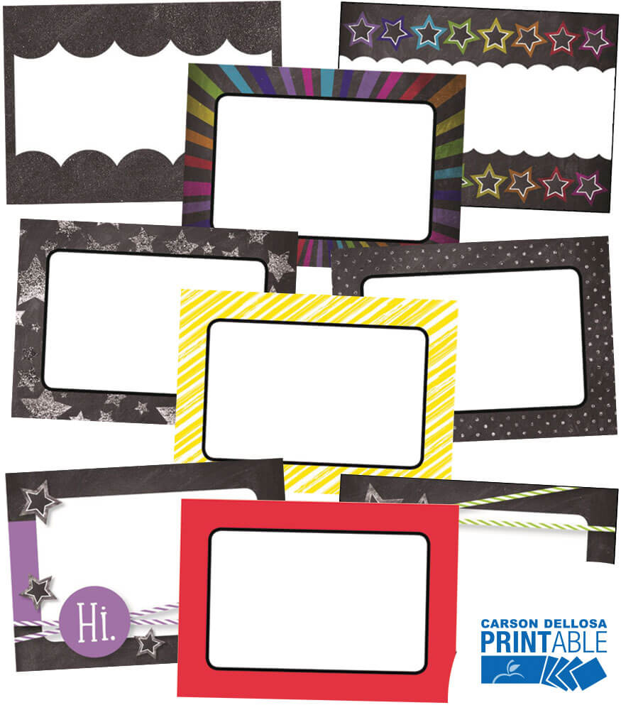 Twinkle Twinkle You're A STAR!  Printable Name Tags Product Image