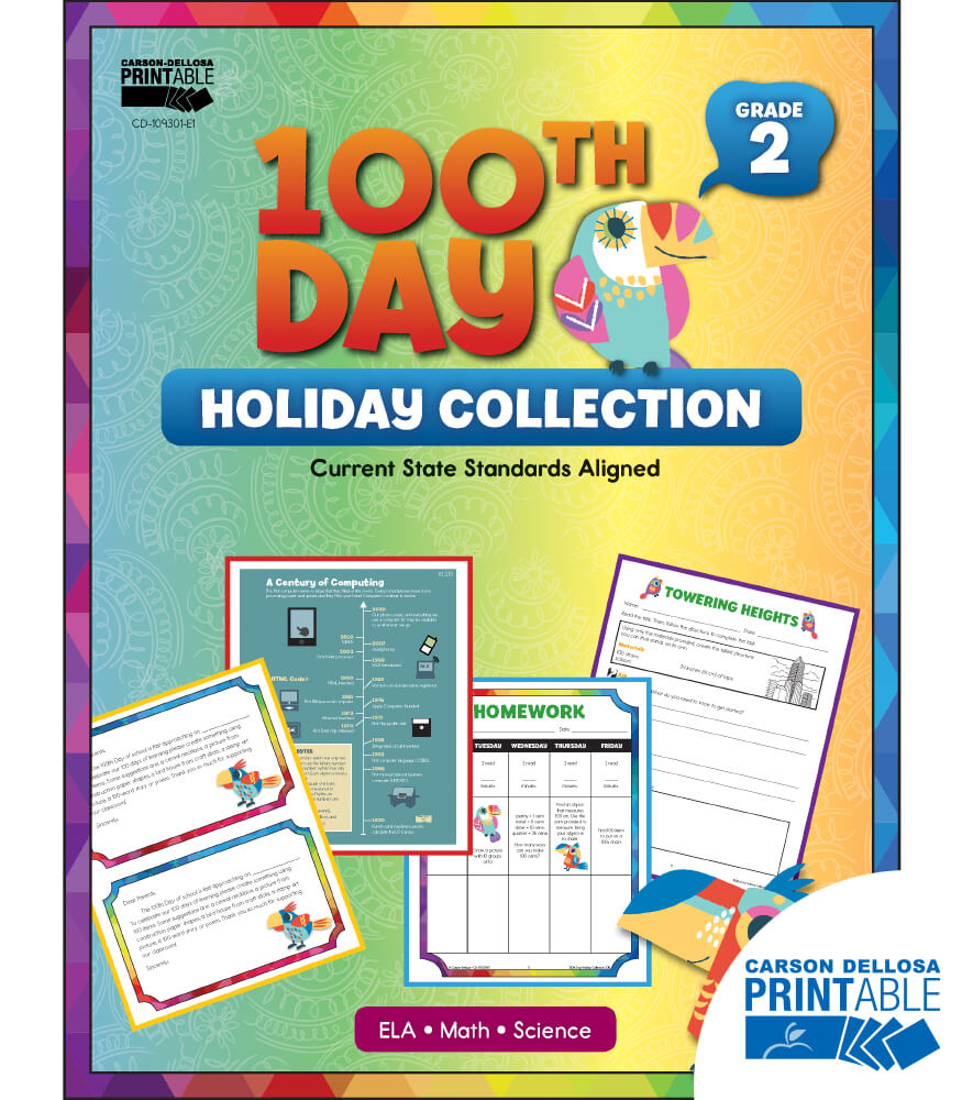 100th Day Holiday Printable Collection