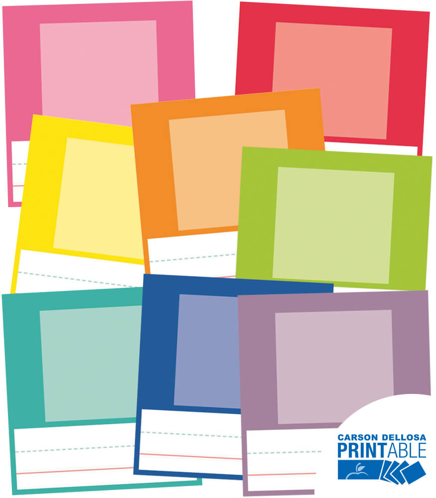 Just Teach Small Printable Photo Cards Product Image