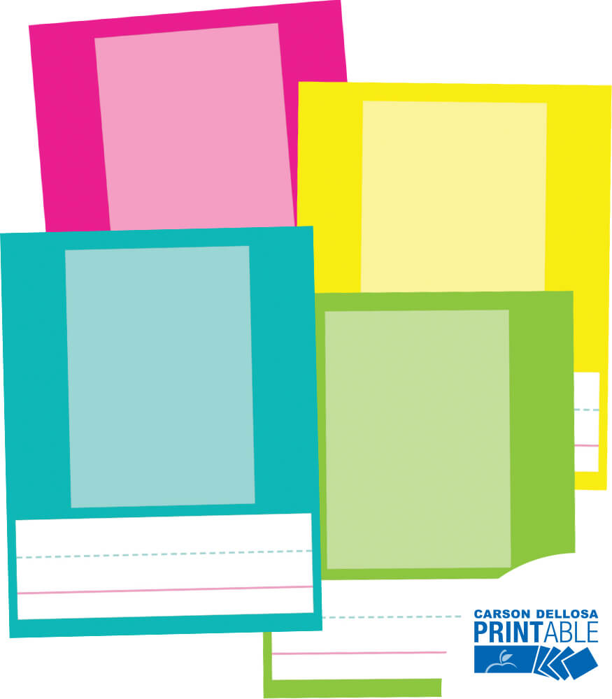 Just Teach Large Printable Photo Cards Product Image