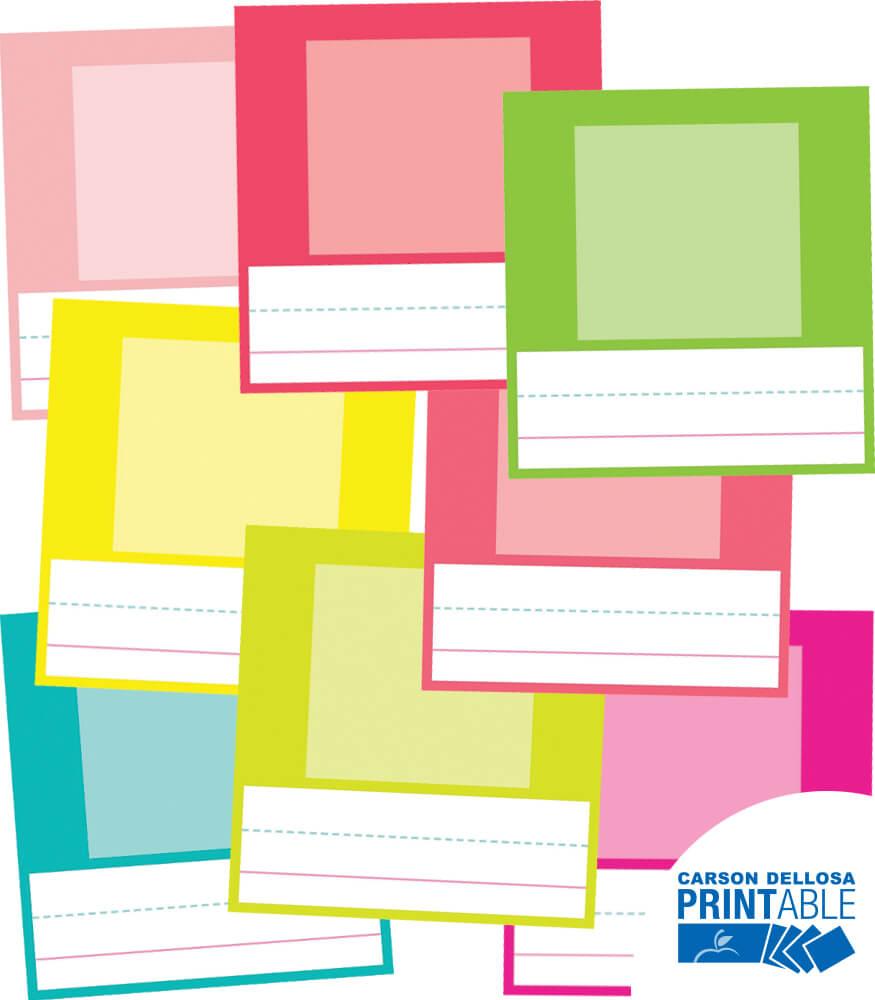 Pina Colada Pineapple Small Printable Photo Cards Product Image