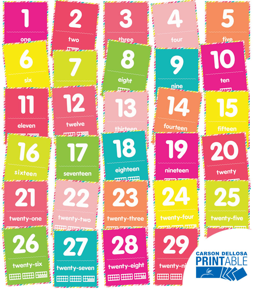 It's just a photo of Adaptable Large Printable Numbers 1-30