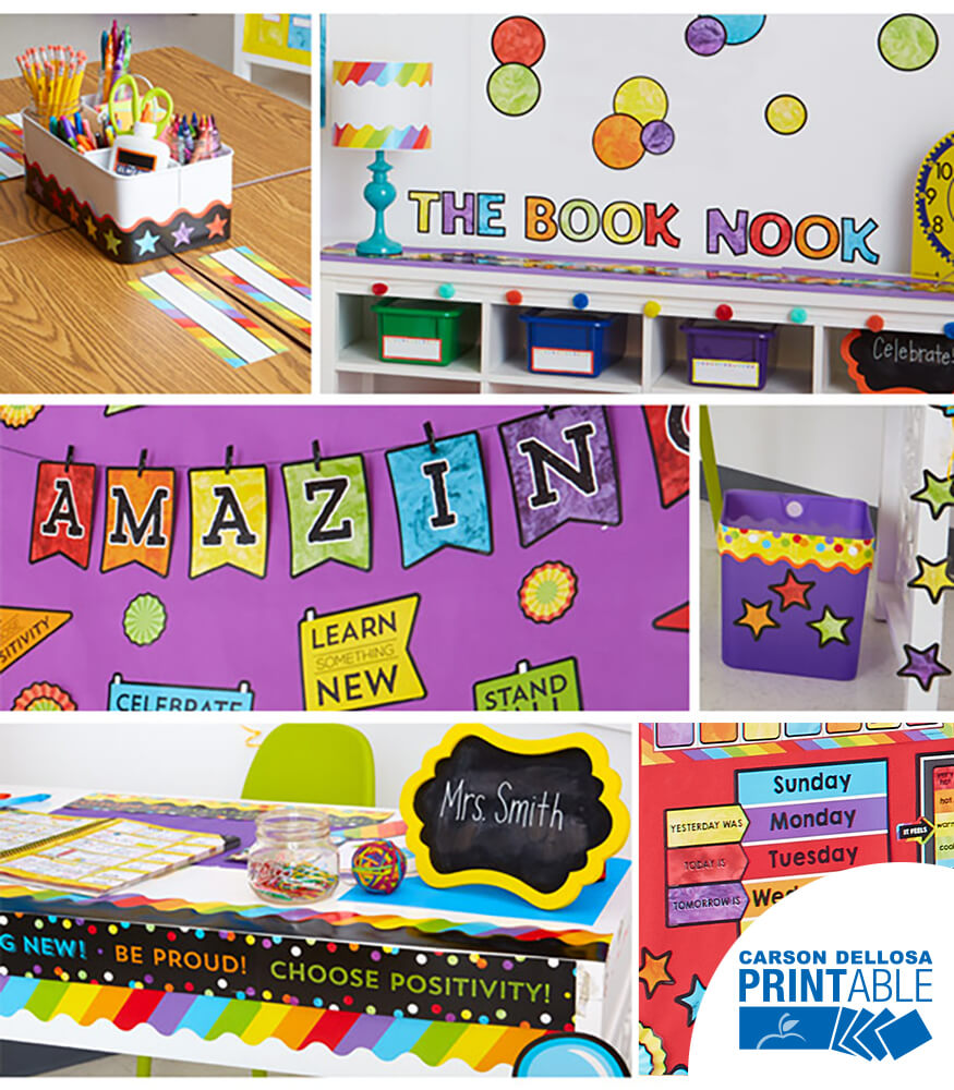 Celebrate Learning Printable Classroom Collection Product Image