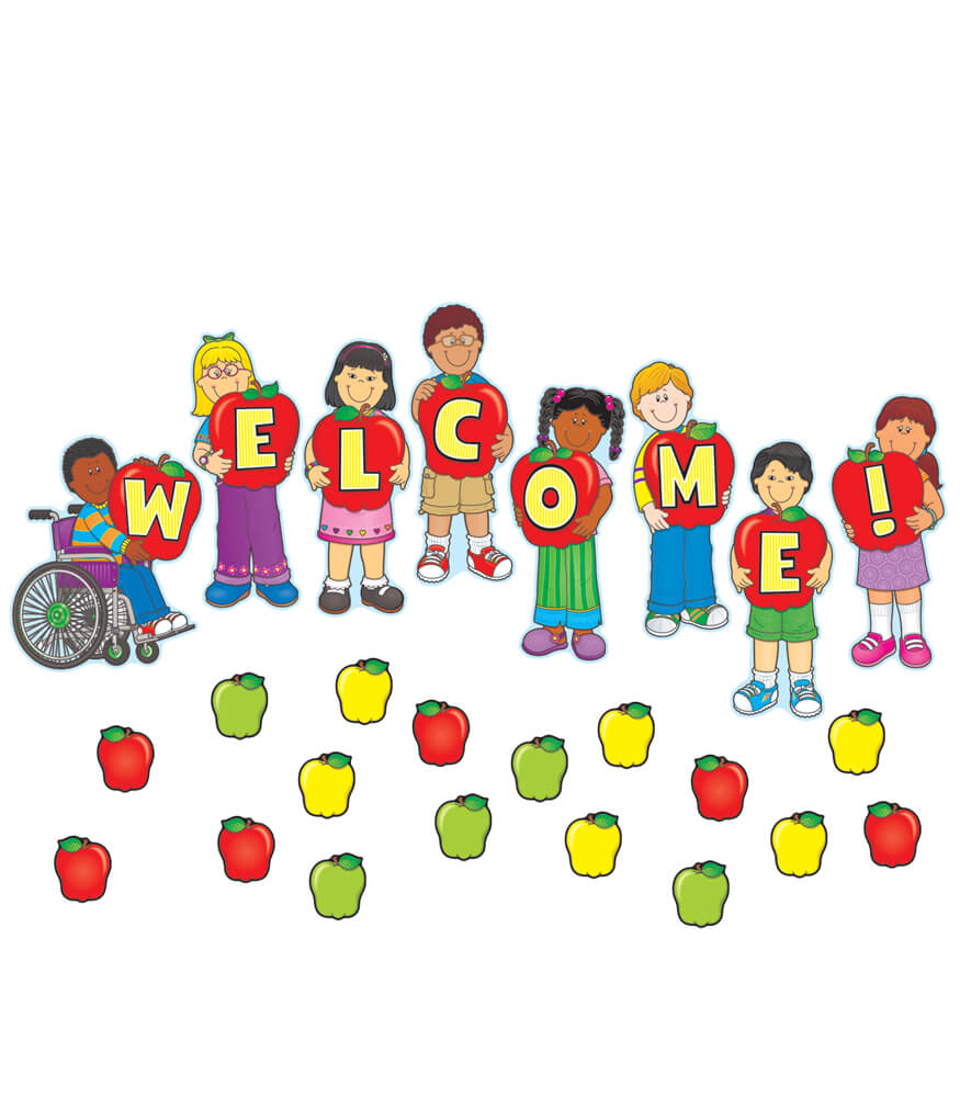 Welcome Mini Bulletin Board Set Product Image