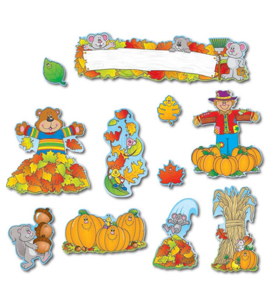 Fall Mini Bulletin Board Set Product Image