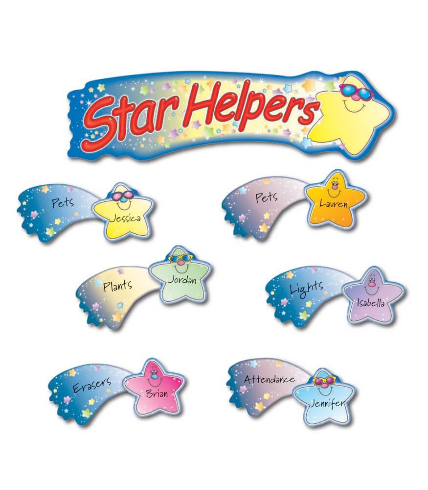Star Helpers Mini Bulletin Board Set Product Image