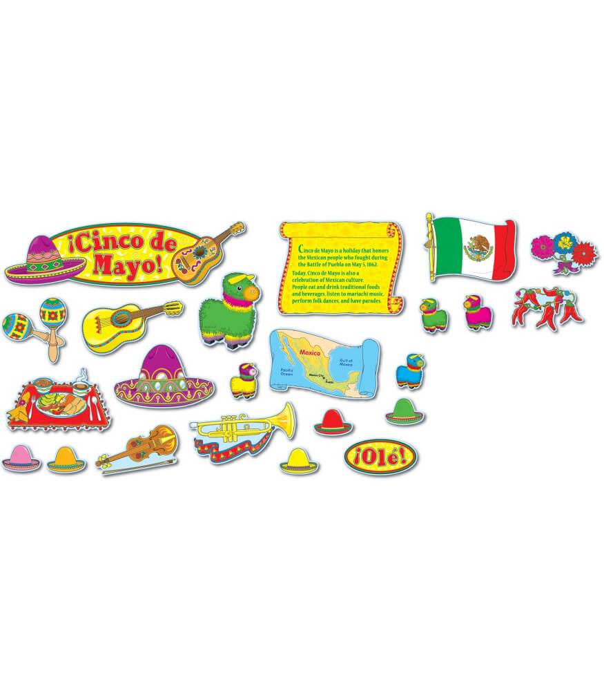Cinco de Mayo Mini Bulletin Board Set Product Image