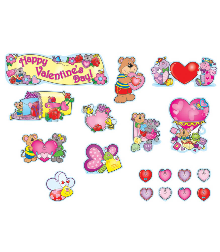 Valentine's Day Mini Bulletin Board Set Product Image